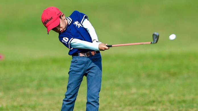 Thailand's next Tiger Woods could be 7-year-old Thanusorn Kongkiew – nicknamed Pro, from Pattaya.