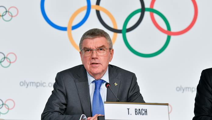 The President of the International Olympic Committee (IOC), Thomas Bach.