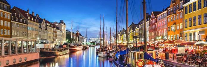 The capital of Denmark, Copenhagen.
