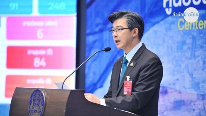The spokesman of the CCSA, Dr Thaweesin Wissanuyothin.