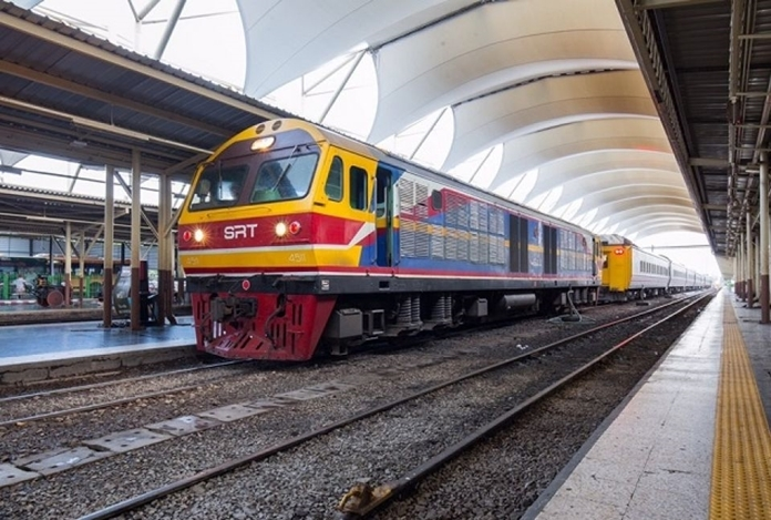 The State Railway of Thailand (SRT) has adjusted their services after declaration of 'Curfew' to cut down people's travels