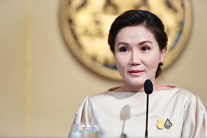 The Government Spokeswoman, Prof. Dr. Narumon Pinyosinwat.