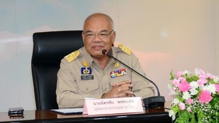 The permanent secretary of the Interior Ministry, Chatchai Phromlert.
