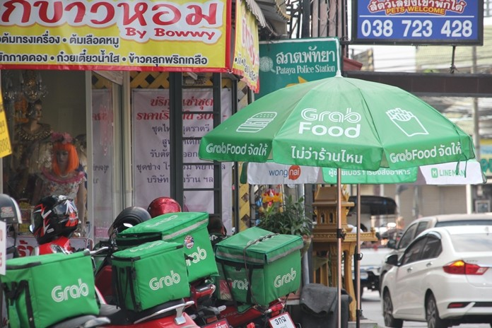 Services such as Foodpanda, Grab Food and Line Man have never have been busier.