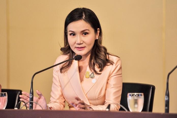 Thai Government spokeswoman,Narumon Pinyosinwat.