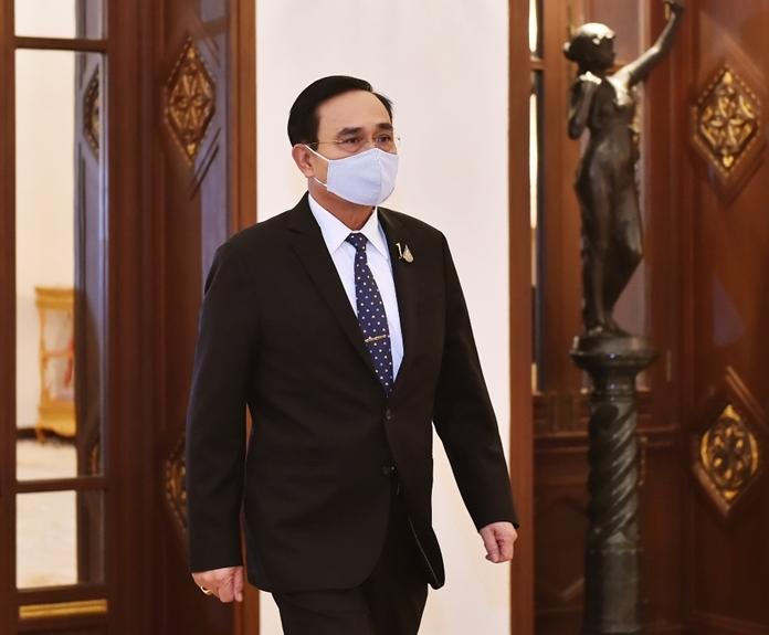 Thai Prime Minister, Gen Prayut Chan-o-cha.