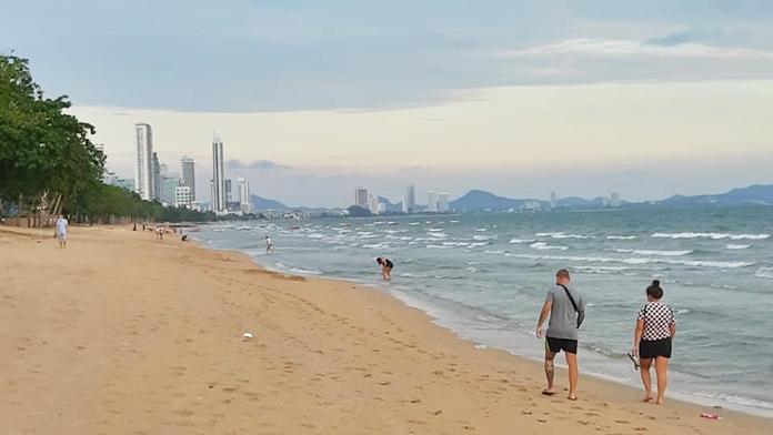 Jomtien Beach, Pattaya City, Chonburi Province.