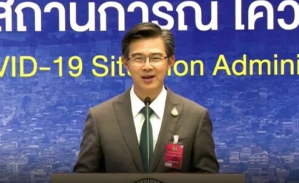 Dr. Taweesilp Wisanuyotin, Spokesman of the Center for Covid-19 Situation Administration (CCSA).
