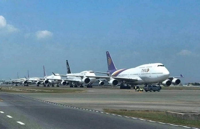 The Civil Aviation Authority of Thailand (CAAT) has extended its ban on inbound flights for another month from 12.01 am on May 1 to 11.59 pm on May 31