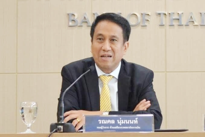 Bank of Thailand's Deputy Governor on Financial Institutions Stability, Ronadol Numnonda.