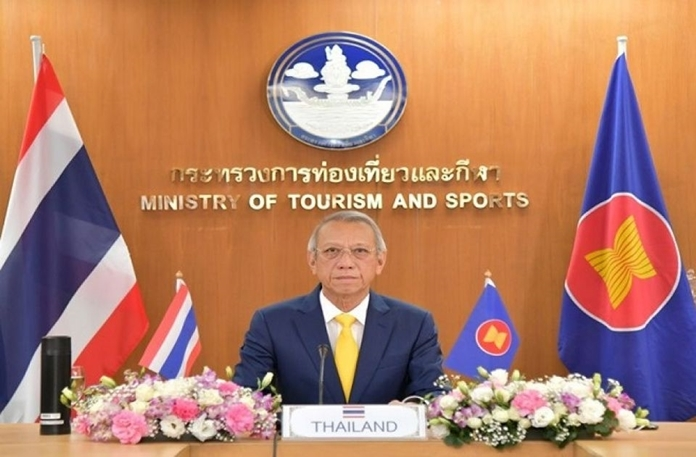 Thailand's Tourism and Sports Minister Phiphat Ratchakitprakarn.