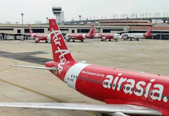 Thai AirAsia at Don Mueang Airport.