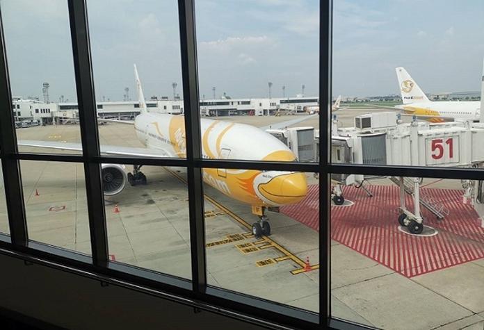 Nok Air at Don Mueang Airport.