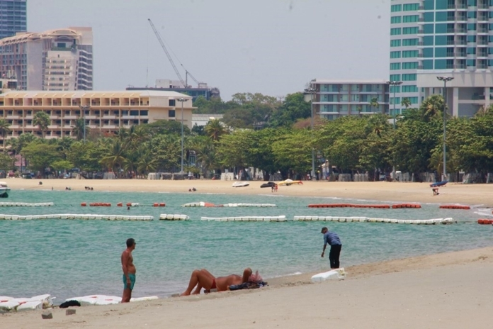 Tourists still love the sea, sand, and sun of Pattaya City's beaches but now it's a different atmosphere.