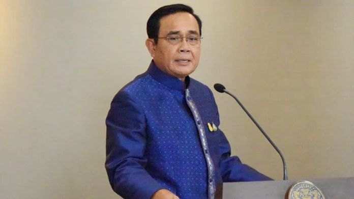 Prime Minister and Minister of Defense Gen Prayut Chan-o-cha.