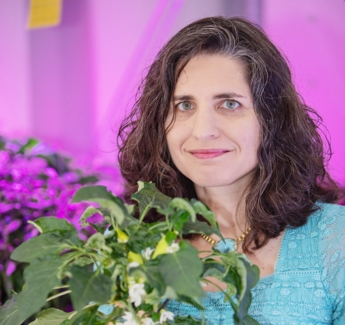 Gioia Massa is the NASA Veggie project lead at NASA's Kennedy Space Center, working with astronauts on the International Space Station to grow plants in space. She's a 2019 recipient of the Presidential Early Career Award for Scientists and Engineers. Credits: NASA