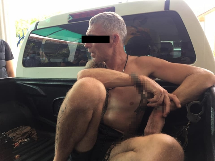 Neil Henry Elliott is in custody in for allegedly killing a Pattaya prostitute with a machete.