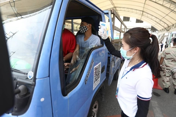 """The checkpoints were supposed to last three weeks but were ended early as Pattaya's coronavirus cases ended almost as fast as they began, returning the city to """"white zone"""" status."""