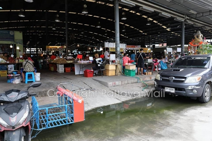 The smell is strong in Naklua New Market.