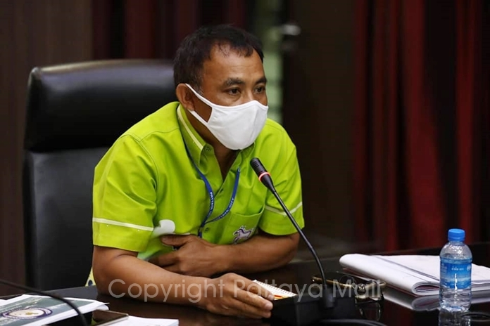 Deputy City Manager Kiattisak Sriwongchai said the Provincial Electricity Authority will begin burying power and communications wires on South Road June 13.
