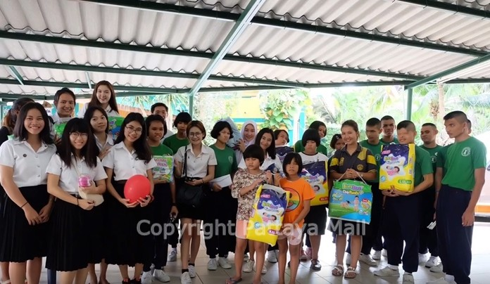 Your donation would go a long way to help the Pattaya's Redemptorist School for the Blind.