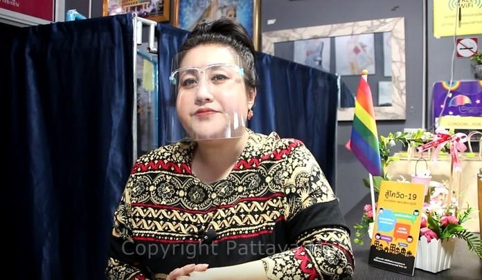 Director Titiyanan Nukpor said Pattaya's LGBT community has been hit hard by the bar and cabaret closures.