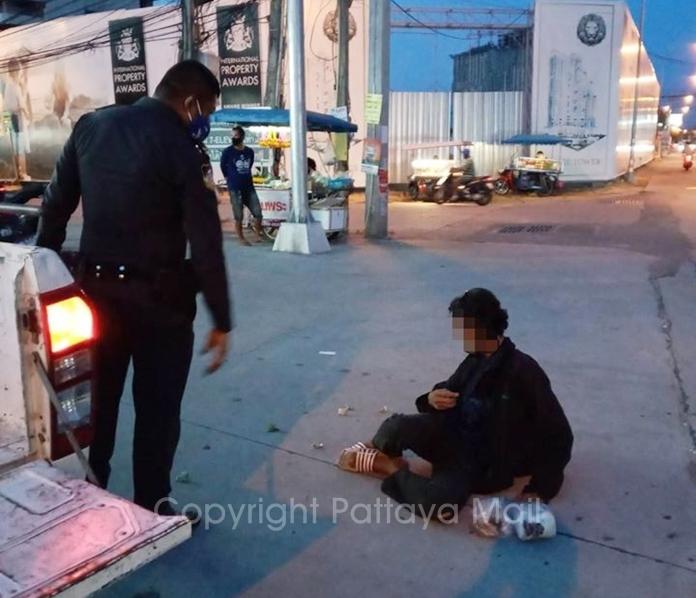 Lawyer Kerdpol Kaewkerd's client faces a fine of 5,000 baht for public indecency.