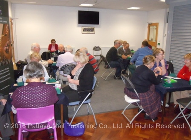 Sports and leisure activities all involve close group activity and holding stuff already touched by others, whether it be a sheet of pictures in the quiz or the cards at the bridge table.