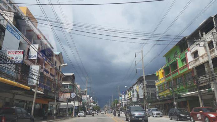 Jomtien - Thepprasit Road, Pattaya City, Chonburi Province.