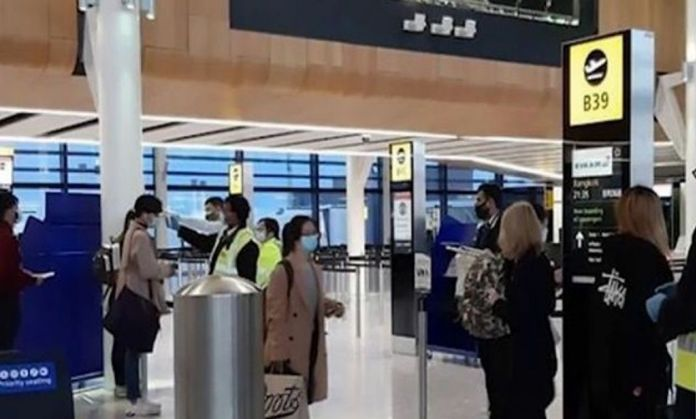 250 Thai returnees from UK and Ireland on a special flight to arrive at Suvarnabhumi Airport at 3 p.m. on Monday.
