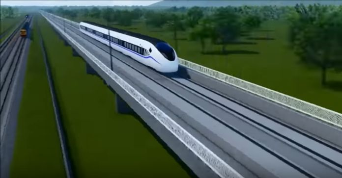 The signing for the Bangkok-Nakhon Ratchasima high-speed railway between Thailand and China is expected in October.