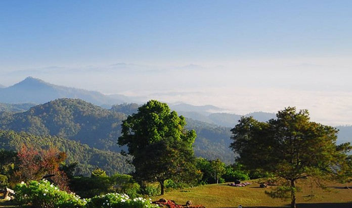 Chiang Mai, northern province of Thailand's natural park.