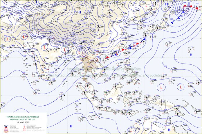 Thailand Weather - General Situation.