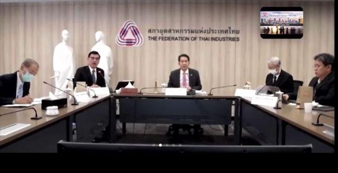 The Federation of Thai Industries (FTI) chairman, Supant Mongkolsuthree.