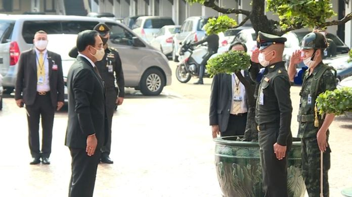 Prime Minister Prayut Chan-o-cha as head of the NSC.