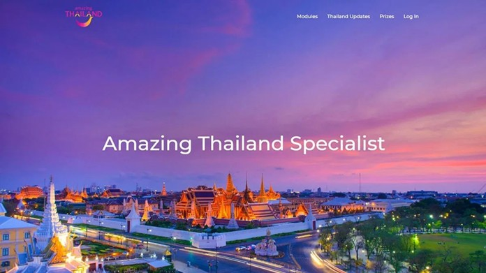 TAT Sydney Office launches online training platform 'Amazing Thailand Specialist' for Oceania travel industry.