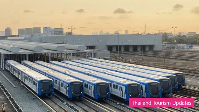 The Mass Rapid Transit Authority of Thailand (MRTA) and the Bangkok Expressway and Metro (BEM) gear up anti-COVID-19 social distancing measures.