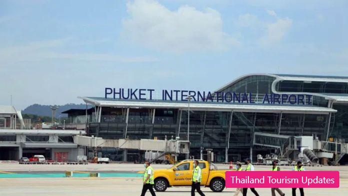 Phuket International Airport.