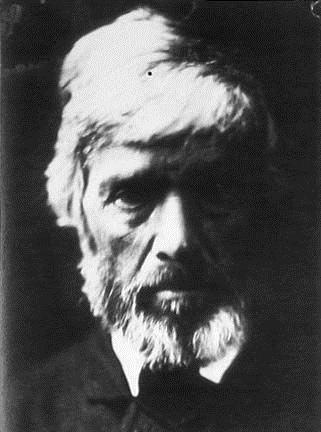 Thomas Carlyle was taken by Julia Margaret Cameron in 1867.