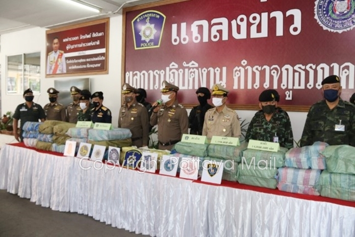 An alleged drug runner was killed and 17.8 million methamphetamine tablets seized in three Chiang Mai Region 5 police anti-drug operations.