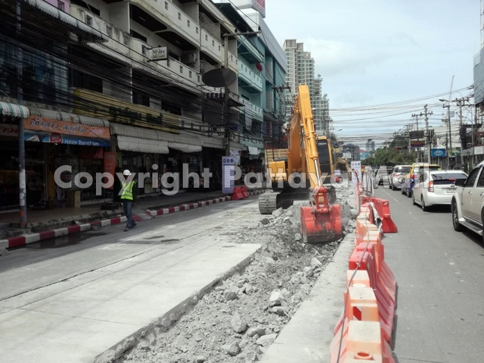 Construction has started on South Road and will continue until the end of the year.