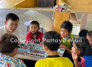 Kids play card games that teach them ways to help stand their ground, avoid risks and protect themselves when needed.
