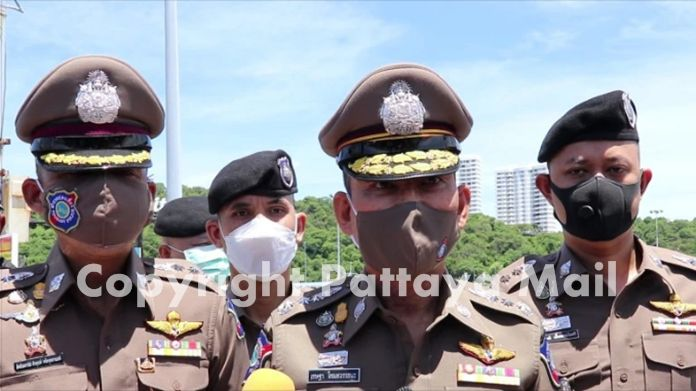 Tourist Police Commissioner Police Pol. Lt Gen. Chetta Komolwattana, accompanied by local officers, toured the area June 15.