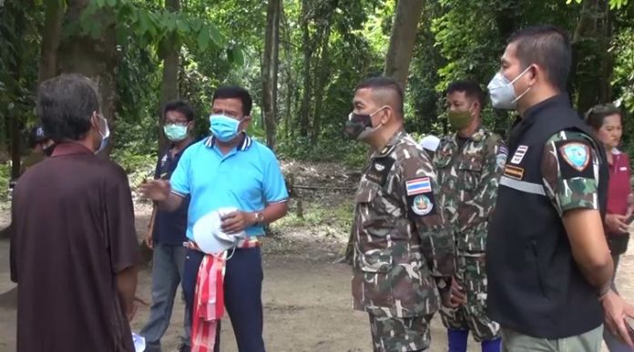 Mani tribe members in Songkhla will be watching the forest and alert the rangers of any illegal logging or hunting in their area.