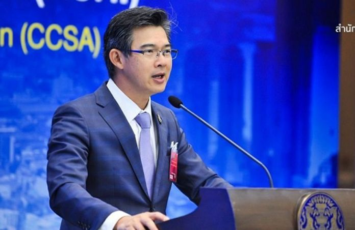 The Center for COVID-19 Situation Administration (CCSA) spokesman Dr Taweesin Visanuyothin.