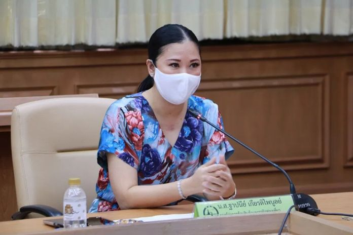 Ms. Thapanee Kiatphaibool, Deputy Governor for Tourism Products and Business of Tourism Authority of Thailand (TAT)