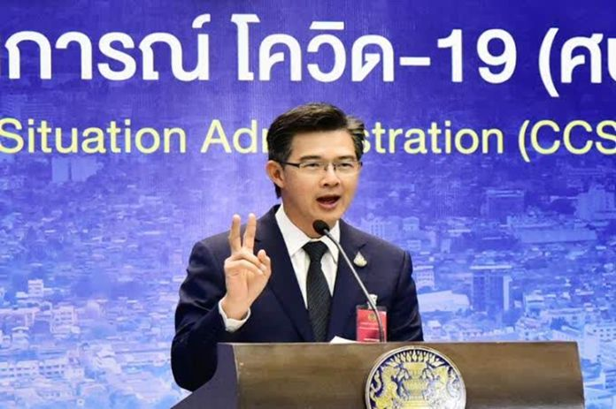 The Center for COVID-19 Situation Administration (CCSA) spokesman, Dr Taweesin Visanuyothin.