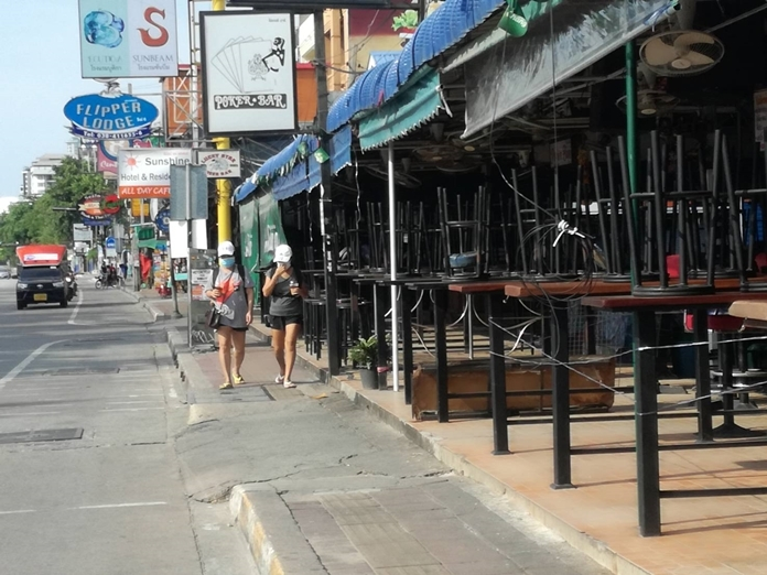 Pattaya beer bars had been ordered shutdown since March are yet to be reopened when the 4th phase relaxation order is announced.