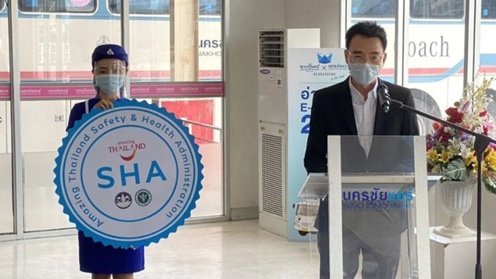 Nakhonchai Air is in the process of applying for the Amazing Thailand SHA certification.