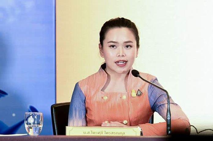 Ms Traisulee Traisoranakun, Government Deputy Spokesperson.